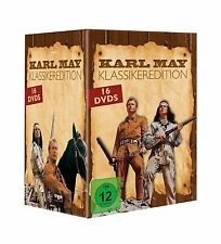 Gesamtbox KARL MAY Klassiker WINNETOU & OLD SHATTERHAND Orient ..16 DVD EDITION