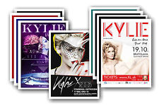 KYLIE MINOGUE  - 10 promotional posters - collectable postcard set # 2
