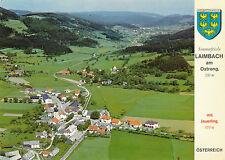AK aus Laimbach am Ostrong, Alpine Luftbild, Niederösterreich  (B4)