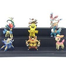 2'' lot Pokemon Figures toy TOMY Pikachu Sylveon Bunnelby Emboar Serperior