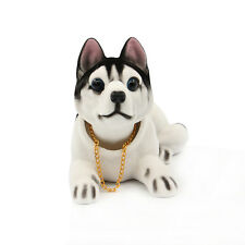 Shaking Head Lucky Dog Environmental Toys Car and Office Ornament Huskie