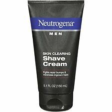 5 Pack - Neutrogena Men Skin Clearing Shave Cream 5.10oz Each
