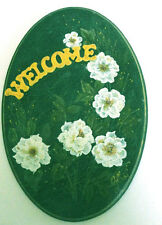 ACRYLIC PAINTING - WELCOME SIGN