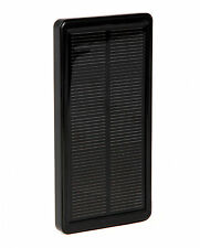 Power Solve Solar Rechargeable Portable Black Mobile Charger T15522