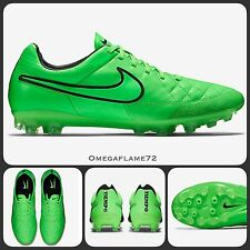 Sz 8.5 Nike Tiempo Legacy AG-R Football Boots Green, Astro Pitch 3G 5-Aside