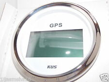 KUS GPS Digital Boat Speedometer Gauges Speedo 85mm SOG COG 12V/24V Marine New