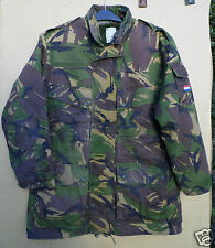 GENUINE DUTCH ARMY THREE PIECE WOODLAND CAMOUFLAGE COAT/PARKA
