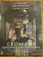Crowbar, Obedience Thru Suffering, Full Page Promotional Ad