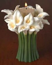 Calla Lily Tea-Lite  Candle Holder