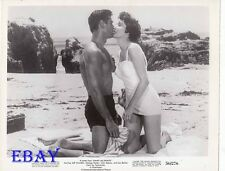 George Nader barechested, Julie Adams VINTAGE Photo Away All Boats