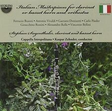 Italian Masterpieces for Clarinet or Basset Horn and Orchest-VARIOUS CD