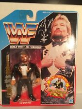 "WWF Hasbro Series 1 Ted Dibiase ""The Million Dollar Man Signed Action Figure USA"