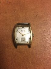 1941 Lord Elgin 17 Jewels Dress Watch Runs 14K Gold Filled Case Mens