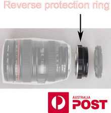 Reverse Protection Filter Ring for Canon EOS Lens Macro Photography AUS