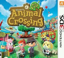 Animal Crossing New Leaf Full Game  Download Card/Key  for Nintendo US 3DS Only