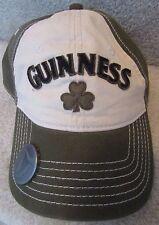 Guinness Baseball Hat Cap OSFA Opener in Brim EUC