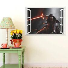 Star Wars KYLO REN 3D Window Wall Sticker Mural Art Vinyl Decal Home Decor DIY