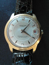 Vintage Mens Automatic Watch Curtiss 25 Jewels Swiss Made Water Proof