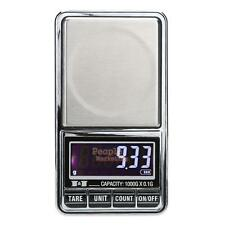1000g x 0.1g Digital Scale Jewelry Gold Silver Coin Grain Gram Pocket Size Scale