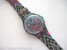 PRETTY BOHEMIAN! Colorful New Gents CREATIVE ART Swatch By UMA WANG! NIB-RARE!