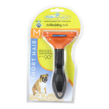 Furminator Undercoat Deshedding Tool For Dogs Medium Short Hair For Sale Online Ebay