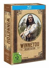 Deluxe Edition WINNETOU & OLD SHATTERHAND Colección KARL MAY 10 BLU-RAY Caja