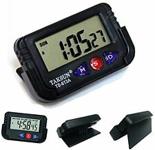 Taksun Digital lcd alarm Table Desk Car Dashboard Clock Timer Stopwatch