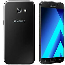 "Indian Samsung Galaxy A5 2017 Duos Dual 32GB 3GB 5.2"" 16MP 16MP Black Warranty"