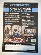 ▓ PLAN MEDIA ▓ KING CRIMSON : THE POWER TO BELIEVE