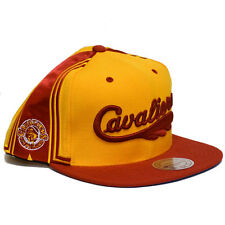 Cleveland Cavaliers HWC Mitchell & Ness Jersey Short Hook Snapback (Gold)