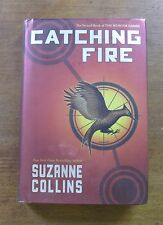 CATCHING FIRE by Suzanne Collins  -  1st/1st 2009 HCDJ  - 1-10 - HUNGER GAMES