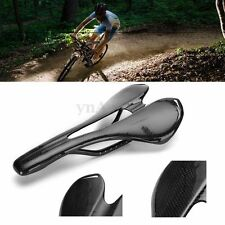 Carbon Fiber Bike Road Cycling Cushion Hollow Saddle Bicycle Seat Lightweight