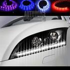 4/6pcs 50CM 3528 30LED Strip Neon Light Super Bright Car Daytime Running Light