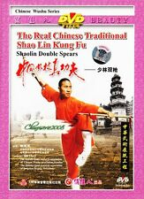 Real Chinese Traditional Shao Lin Kungfu - Shaolin Double Spears by Shi Deci DVD
