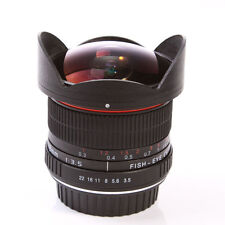 8mm f/3.5 Fisheye Lens Super Wide Angle for NIKON D7000 D5300 D5200 D5100 D90