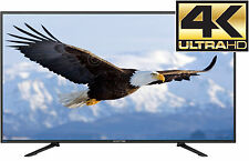 "55"" 4K Ultra HD TV LED Flat Large Big Screen Wall Gaming Monitor Home Theater"