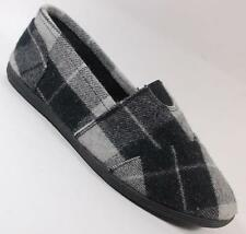 NEW Girls Youth SODA OBJECT Black Plaid Flats SlipOn Loafers  Shoes SZ 13