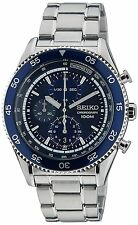SEIKO SNDG55P1 Chronograph Date 100M Gents Analogue 2Year Guarantee RRP £229.00