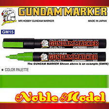 MR. HOBBY GUNDAM MARKER GM15 FLUORESCENT GREEN for Bandai Gundam Model Kit