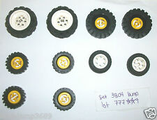 LEGO Set 3804 Mindstorms Wheels 6595 49.6x28 2994 3482 2346 43.2x28 3438 3634