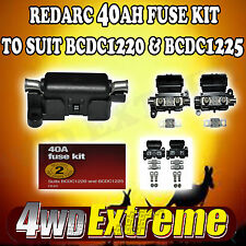 REDARC 40A FUSE & FUSE HOLDER KIT TO SUIT BCDC1220 BCDC1225 DUAL BATTERY - FK40