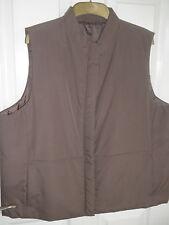 BHS, vison de couleur, veste sans manches. taille 20 en top cond.