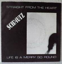"SCHMUTZ Straight from the heart (LISTEN) RARE 7"" new wave-synth BELGIUM"