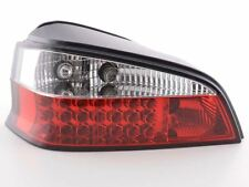 Peugeot 106 (1996-2003) Red & Clear Lens Bright LED Back Rear Tail Lights - Pair