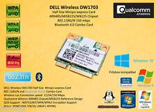 DELL DW1703 802.11N Bluetooth 4.0 Atheros AR9485 WB225 AR5B225 minipci-express