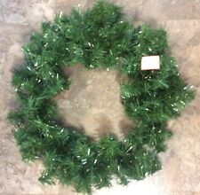 """24"""" Windsor Pine Artificial Holiday Wreath - Unlit  Fall Christmas Thanksgiving"""
