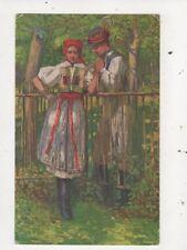 Namluvy Na Slovaci J Koudelka Eastern Europe Vintage Art Postcard 866a