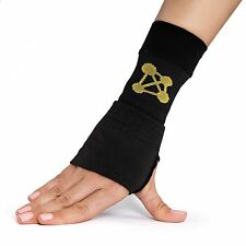 CopperJoint Copper Wrist Support, #1 Compression Sleeve - (RIGHT HAND MEDIUM)