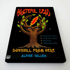 Grateful Dead Downhill From Here Alpine Valley 1989 Summer Tour WI 1999 DVD 1st