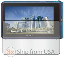 3x Clear LCD Screen Protector Guard Cover Film Camera Sony Cyber-Shot DSC-TX30